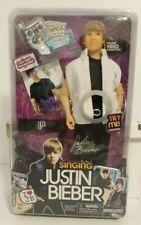 Justin Bieber Singing Doll - Somebody To Love 2010 Voice Works NIP