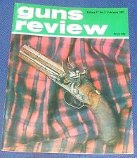 GUNS REVIEW MAGAZINE FEBRUARY 1977 - THE MAUSER LUGER