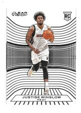 2015-16 Justise Winslow Panini Clear Vision Rookie - Heat
