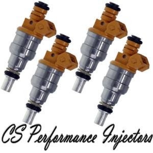 OEM Bosch Fuel Injectors Set (4) 0280150711 for 86-90 Saab 9000 900 2.0 2.3 I4
