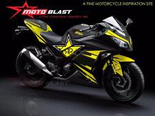 Fairings For Honda 04-05 CBR1000RR Matte Yellow Rockstar Fairing Bodywork Kit