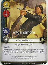 A Game of Thrones 2.0 LCG - 1x Theon Greyjoy  #071 - Base Set - Second Edition