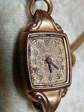 Elgin ladies Wristwatch Copper Tone