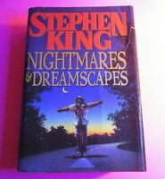 Stephen King Book Nightmares and Dreamscapes True 1st ED First Print HC/1993