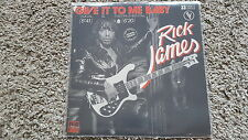 Rick James - Give it to me baby 12'' Disco Vinyl FRANCE