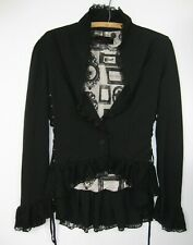 PENNY DREADFUL HOT TOPICS LACE UP JACKET GOTHIC VICTORIAN