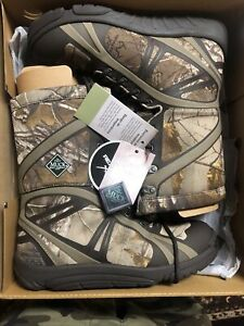 Men's Muck hunting boots size 11 Realtree Xtra Pursuit Shadow Mid Lightweight