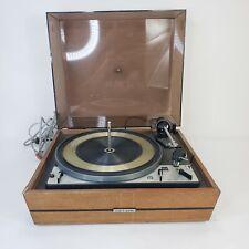 Vintage United Audio Dual 1218 Turntable w/ Dust Cover Needs Repairs