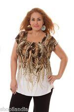 CAMISETA MUJER TALLAS GRANDES MANGA CORTA SPG TALLA 44/46 - Women's T-Shirt