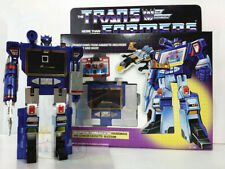 TRANSFORMERS SOUNDWAVE DECEPTICON G1 SERIES NEW SEALED + G1 GUIDE