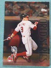 1998 Topps Matt Williams #280 World Series Glossy Cleveland Indians