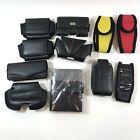 11 Assorted Cell Phone Holders Belt Older Phones Palm PDA Holder