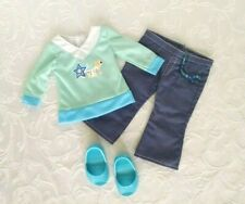 Battat Our Generation American Girl 18 in Doll Clothes Jeans Graphic Tee & Shoes