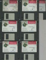 "ITHistory (1993) IBM Software: INCONTEXT SPIDER Beta 4  7X 3.5"" No Manual"