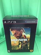 Max Payne 3 (Special Edition) Sony PlayStation 3, PS3 2012 NEW (SEALED CAME OUT)