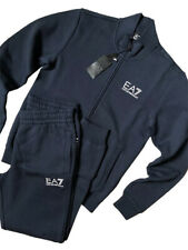 Emporio Armani EA7 Blue Technical Fabric Tracksuit Set in Different Sizes