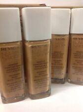 4 x Revlon Nearly Naked Liquid Makeup Foundation Broad S SPF20 #200 Warm Beige