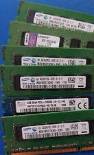 2GB 4GB 8GB 16GB DDR3 ECC RAM PC3L / PC3-8500E PC3-10600E PC3-12800E PC3-14900E