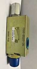"""Drilling Co. Model 1700-8500 Hydraulic Safety Relief Valve 3/4"""" Set @ 3500 psi"""