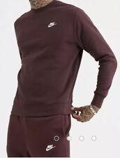 Nike Club crew neck sweat in brown Size M #27