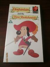 Dogtanian and the Three Muskehounds  VHS Video Tape