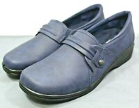 EASY STREET womens comfort shoes size 11 M new with defect scuff on shoe blue
