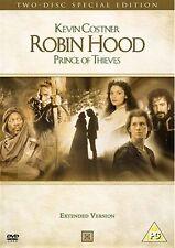 Robin Hood Prince Of Thieves Kevin Costner, Morgan Freeman, Mary NEW UK R2 DVD