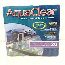 AquaClear 20 Power Filter for 5-20 Gallon Aquariums A595 Brand New