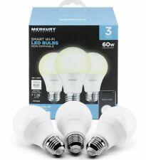 Merkury Innovations A19 60W Smart Led Bulb - White