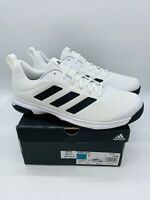 adidas Men's Game Spec Athletic Tennis Shoes - White / Black - US 12   NWD