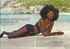 Coupure de presse Clipping 2012 Inna Modja  (4 pages)