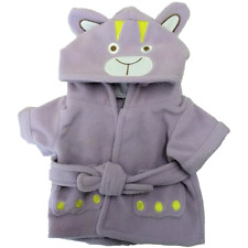 16 inch Bear Bath Robe in Lilac for Teddy Bears and Stuffed Animals