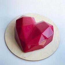 Silicone Diamond Love Heart Shape Cake Mold Baking Pastry Mold Chocolate Jelly J