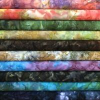 Bali Batiks Mist Design 100% Cotton Fabric FQ Crafting Quilting Patchwork
