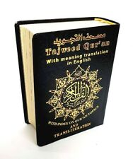 Quran Arabic Mushaf Tajweed with English Trans and Transliteration (Pocket Size)
