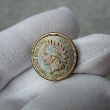 1862 Indian Head Cent MS BU UNC Toned Uncirculated Mint State Estate Sale Find!