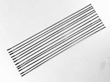 Sapim CX-RAY Straight Pull Bladed Spokes: 246mm Length (0.9x2.2), Silver (each)