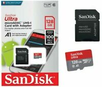 SanDisk Micro SD SDXC Ultra Memory Card Class 10 128 GB 256 GB UHS-I 100MB/s A1