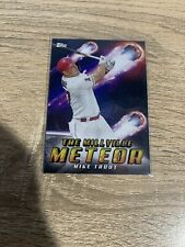 2020 Topps Archives Mike Trout Millville Meteor Los Angeles Angels #303