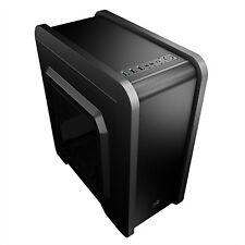 Caja Matx Aerocool Qs-240 USB 3.0 s/f negra