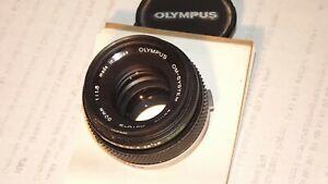 The sale is for an excellent  OLYMPUS 35mm camera lens 42mm mount