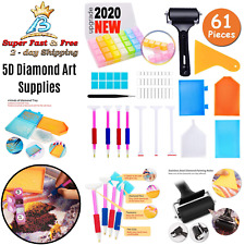 5D Art Supplies Diamond DIY Painting Cross Stitch Tools Roller Accessories Kits