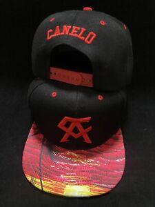 Canelo Alvarez Hat Red aloha paradise brim BOXING CHAMPION SNAPBack New Rare