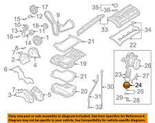 AUDI OEM 00-03 A8 Quattro Engine Parts-Oil Filter Cover 021115433E