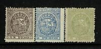 Philippines Mi# 55-57, Mint Hinged, Hinge Remnant, see notes - S6107