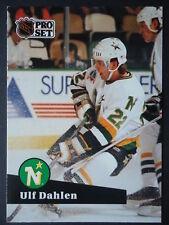 NHL 106 Ulf Dahlen Minnesota North Stars Pro Set 1991/92