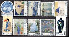 Japan 2020 ¥84 World of Art Series 1, (Sc# 4383a-j), Used