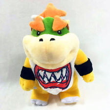 Super Mario Bros. Standing Bowser Koopa Jr. Plush Doll Figure Toy 8 Inch