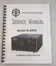 Kenwood R-599S Service Manual - Premium Card Stock Covers & 32LB Paper!