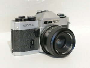 Spiegelreflexkamera Revueflex 1000S inkl. Weitwinkelobjektiv